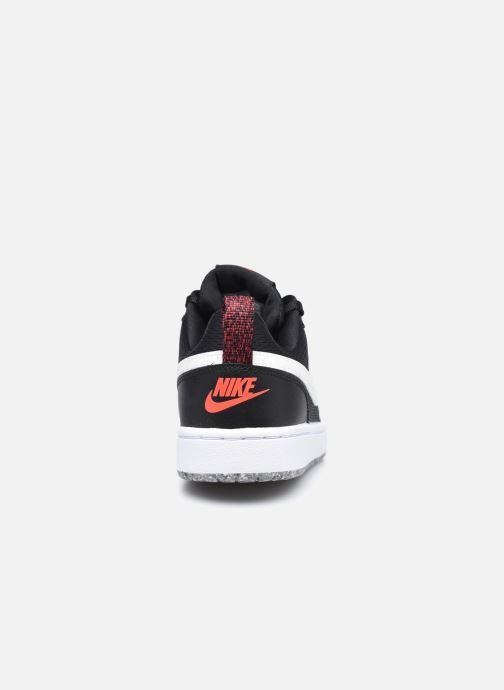 Baskets Nike Court Borough Low 2 Se (Gs) Noir vue droite