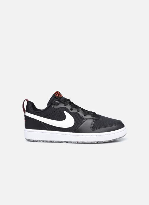 Baskets Nike Court Borough Low 2 Se (Gs) Noir vue derrière