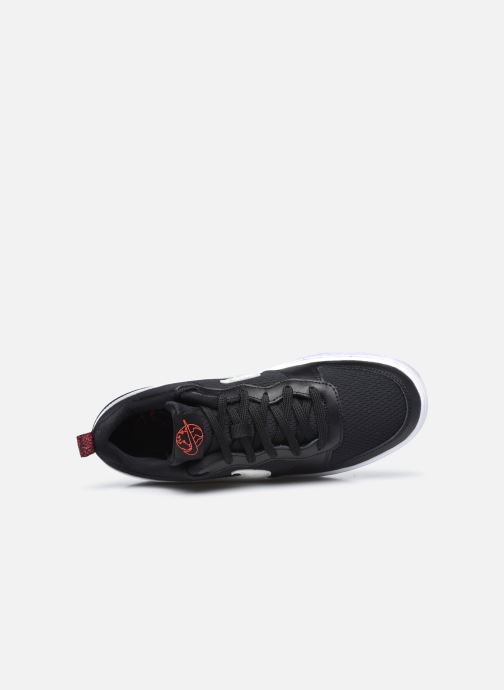 Sneakers Nike Court Borough Low 2 Se (Gs) Nero immagine sinistra