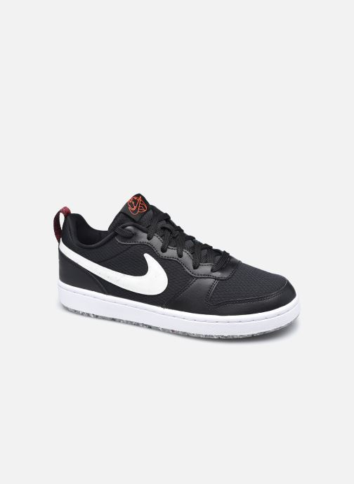 Baskets Nike Court Borough Low 2 Se (Gs) Noir vue détail/paire