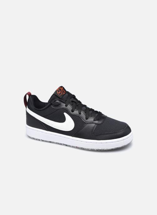 Baskets Nike Court Borough Low 2 Se (Gs) Noir vue détail/paire