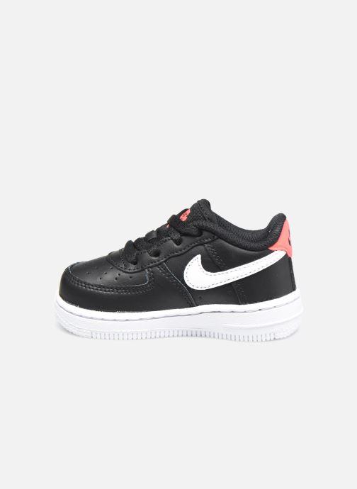 Sneaker Nike Force 1 Ww (Td) schwarz ansicht von vorne