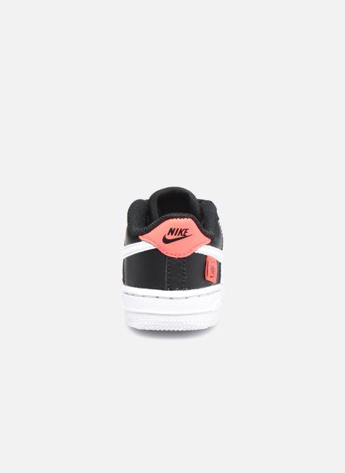 Sneaker Nike Force 1 Ww (Td) schwarz ansicht von rechts