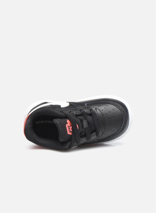 Sneaker Nike Force 1 Ww (Td) schwarz ansicht von links