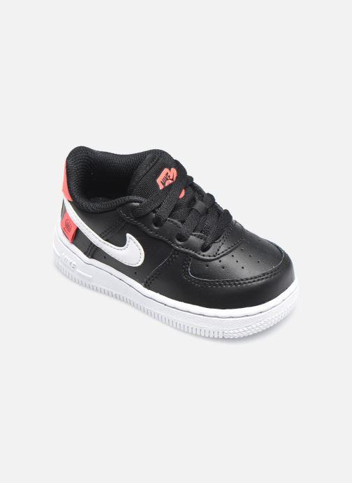 Sneaker Nike Force 1 Ww (Td) schwarz detaillierte ansicht/modell