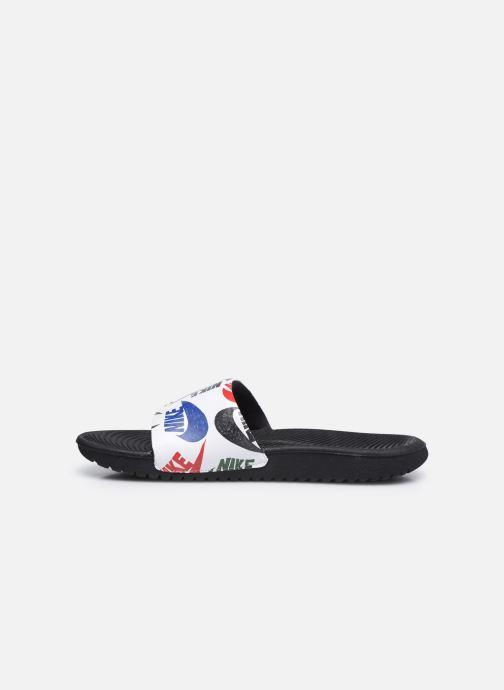 Sandalias Nike Kawa Slide Se Jdi (Gs/Ps) Blanco vista de frente