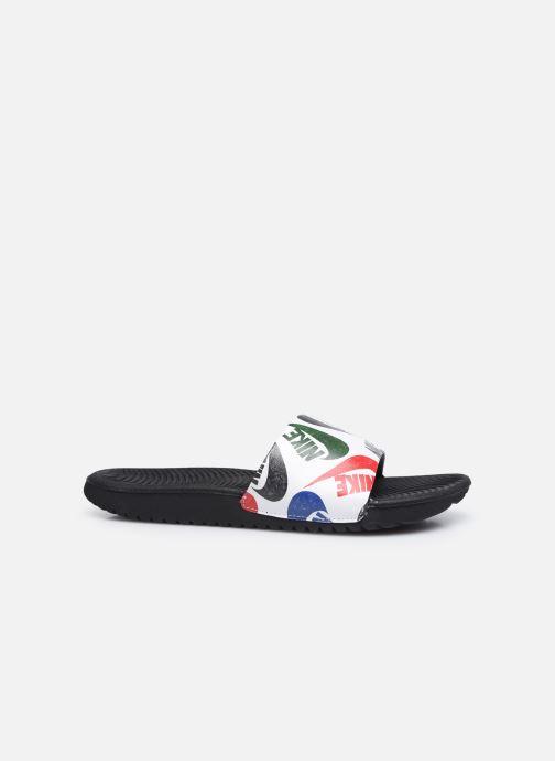 Sandali e scarpe aperte Nike Kawa Slide Se Jdi (Gs/Ps) Bianco immagine posteriore