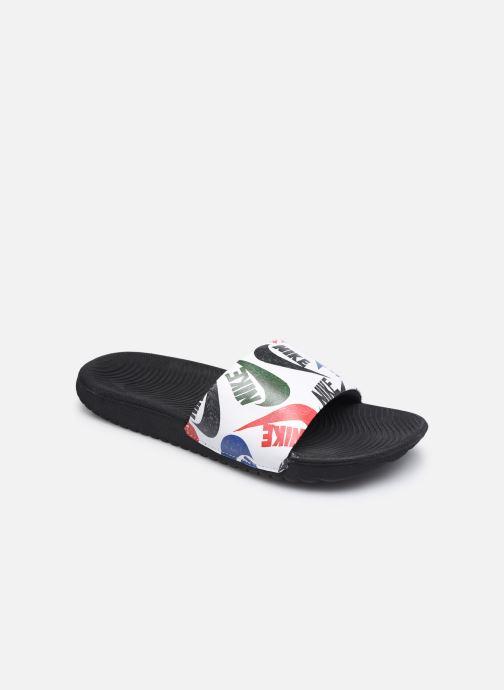 Sandales et nu-pieds Nike Kawa Slide Se Jdi (Gs/Ps) Blanc vue détail/paire
