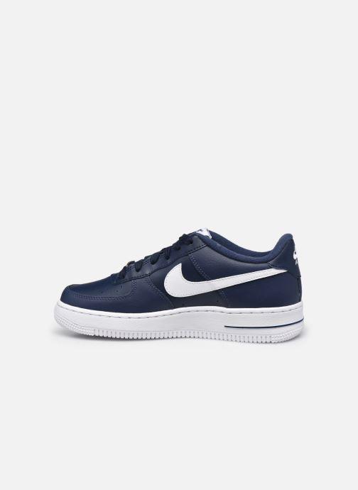 Baskets Nike Nike Air Force 1 Bleu vue face