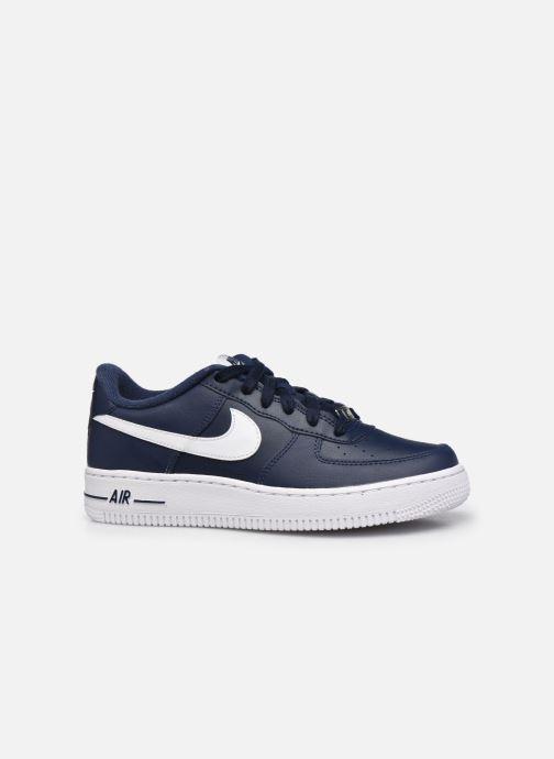 Baskets Nike Nike Air Force 1 Bleu vue derrière