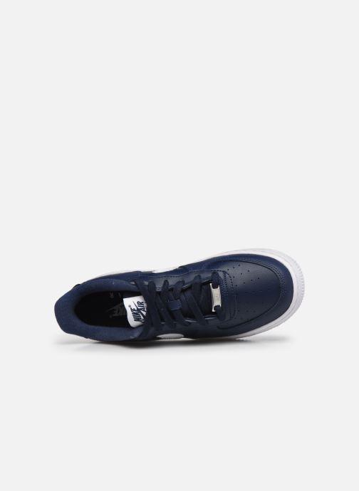 Baskets Nike Nike Air Force 1 Bleu vue gauche
