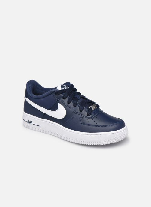 Sneakers Nike Nike Air Force 1 Blå detaljeret billede af skoene