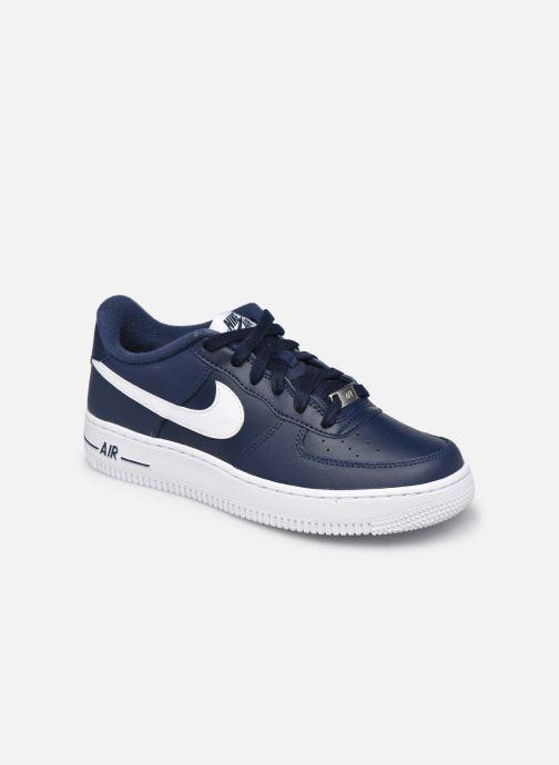Baskets Nike Nike Air Force 1 Bleu vue détail/paire