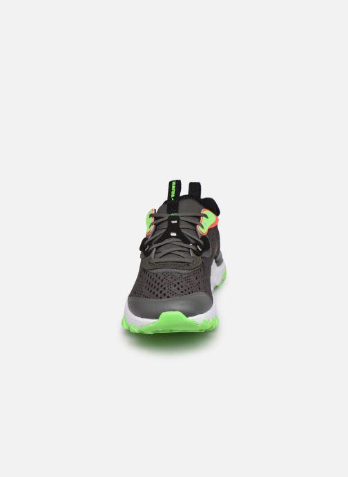 Sportschuhe Nike Nike React Vision Ww (Gs) grau schuhe getragen