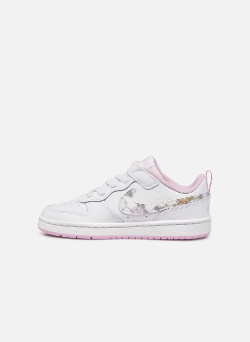 Baskets Nike Court Borough Low 2 Se (Psv) Blanc vue face