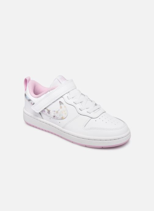 Baskets Nike Court Borough Low 2 Se (Psv) Blanc vue détail/paire