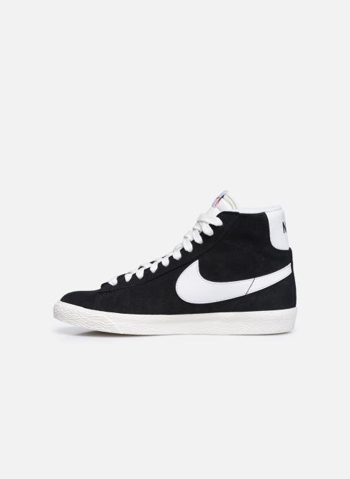 Deportivas Nike Nike Blazer Mid Gs Negro vista de frente