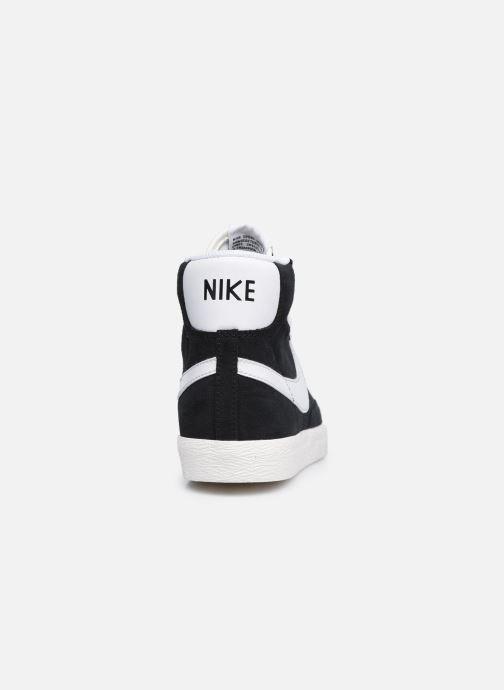 Deportivas Nike Nike Blazer Mid Gs Negro vista lateral derecha