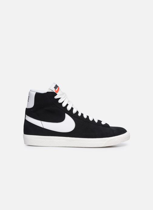 Baskets Nike Nike Blazer Mid Gs Noir vue derrière