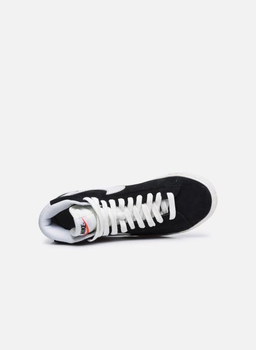 Baskets Nike Nike Blazer Mid Gs Noir vue gauche