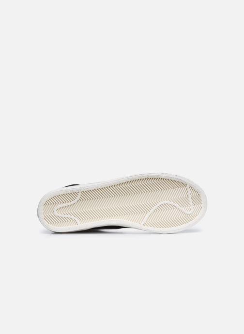 Baskets Nike Nike Blazer Mid Gs Noir vue haut