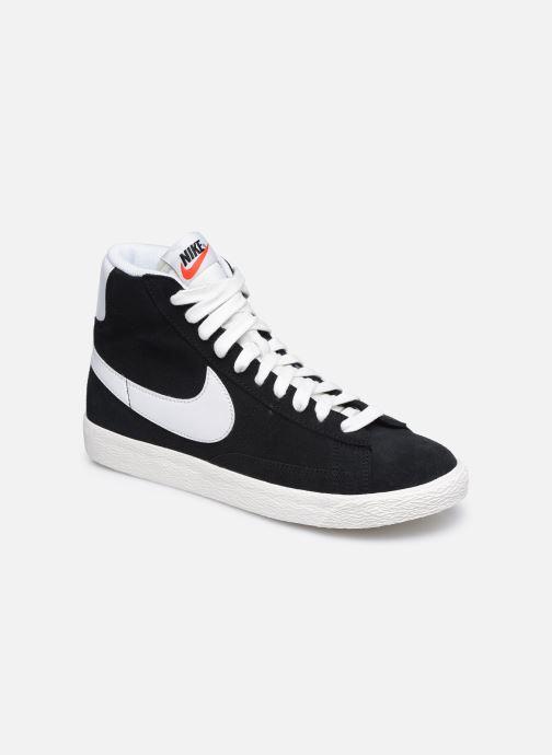 Baskets Nike Nike Blazer Mid Gs Noir vue détail/paire