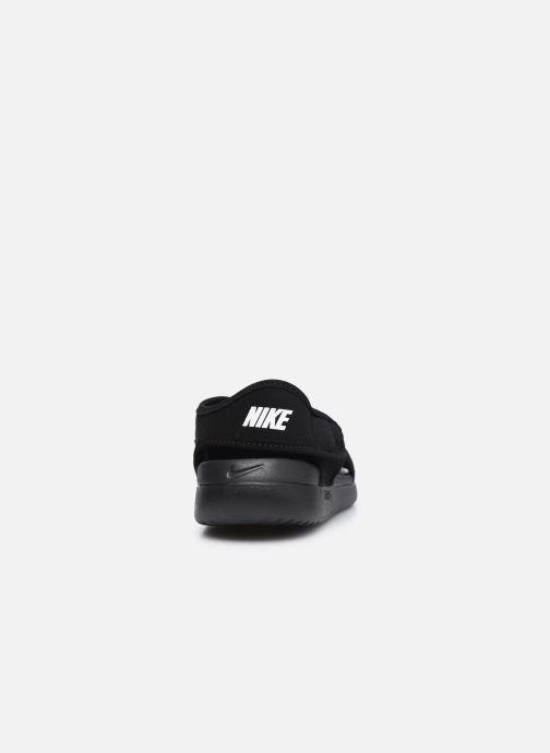 Sandales et nu-pieds Nike Sunray Adjust 5 V2 (Gs/Ps) Noir vue droite