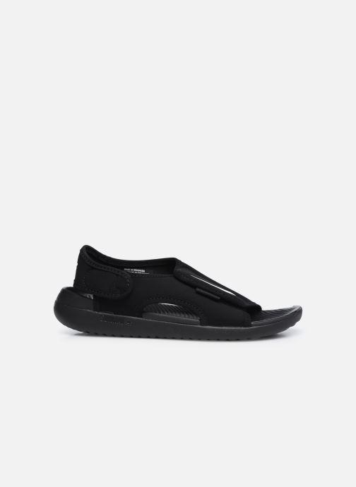 Sandales et nu-pieds Nike Sunray Adjust 5 V2 (Gs/Ps) Noir vue derrière