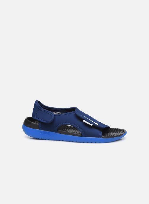 Sandales et nu-pieds Nike Sunray Adjust 5 V2 (Gs/Ps) Bleu vue derrière
