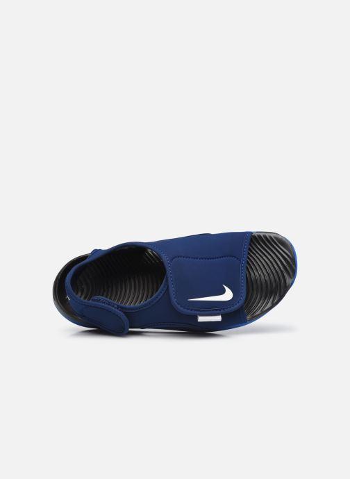 Sandales et nu-pieds Nike Sunray Adjust 5 V2 (Gs/Ps) Bleu vue gauche