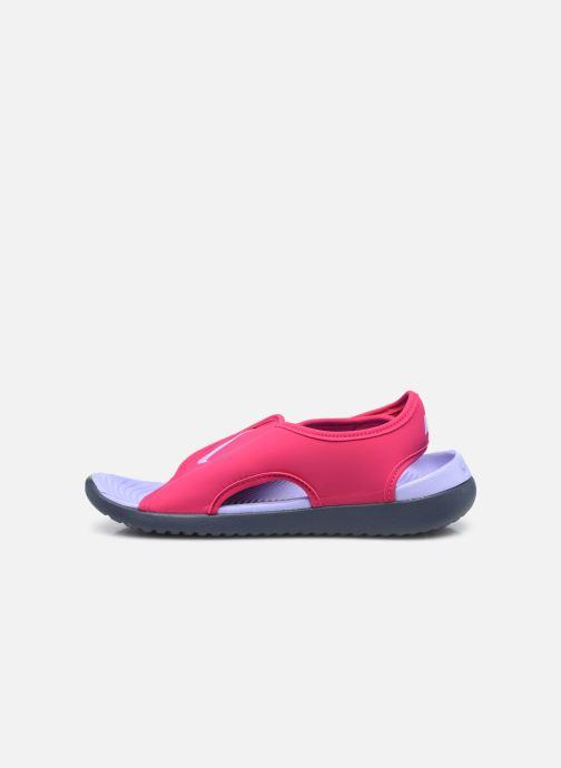 Sandalen Nike Sunray Adjust 5 V2 (Gs/Ps) rosa ansicht von vorne