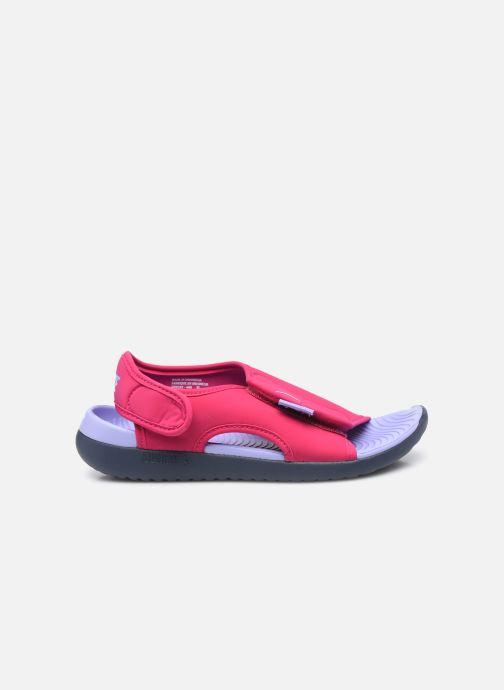 Sandalen Nike Sunray Adjust 5 V2 (Gs/Ps) rosa ansicht von hinten