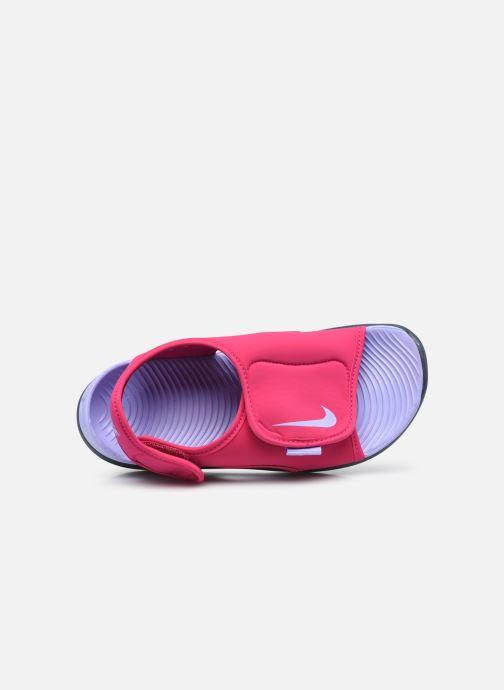Sandalen Nike Sunray Adjust 5 V2 (Gs/Ps) rosa ansicht von links
