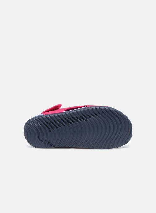Sandalen Nike Sunray Adjust 5 V2 (Gs/Ps) rosa ansicht von oben