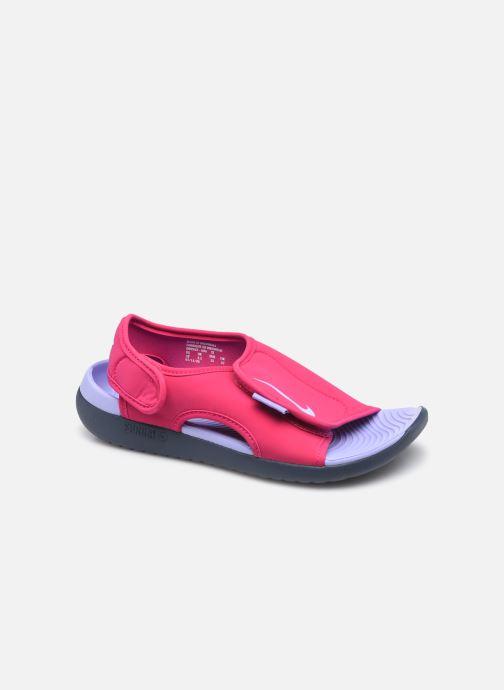 Sandalias Nike Sunray Adjust 5 V2 (Gs/Ps) Rosa vista de detalle / par