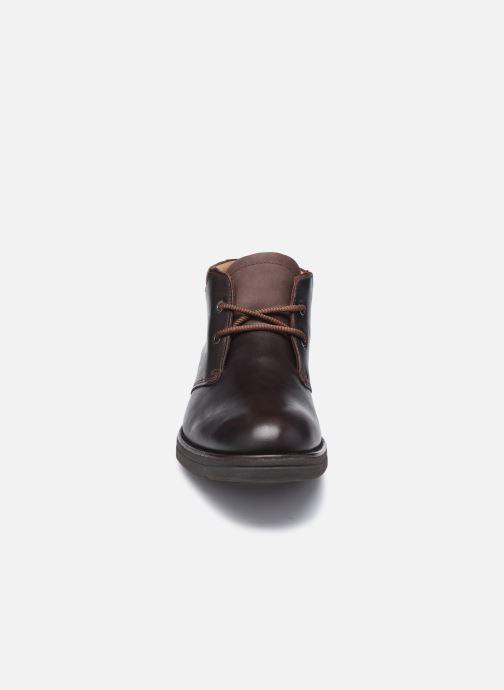 Stiefeletten & Boots Clarks Unstructured Banning HiGTX braun schuhe getragen
