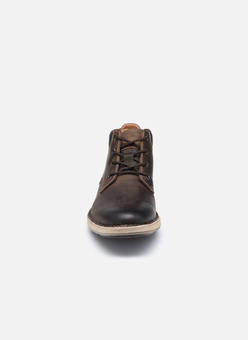Stiefeletten & Boots Clarks Unstructured Un Larvik Top2 braun schuhe getragen
