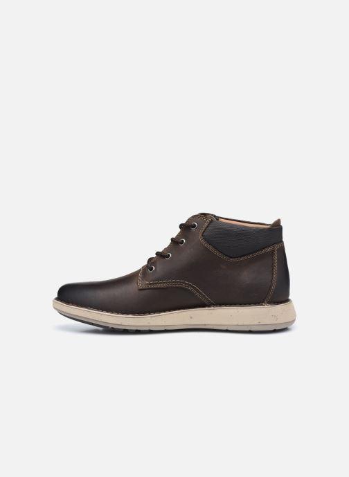 Boots en enkellaarsjes Clarks Unstructured Un Larvik Top2 Bruin voorkant