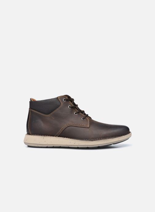 Boots en enkellaarsjes Clarks Unstructured Un Larvik Top2 Bruin achterkant