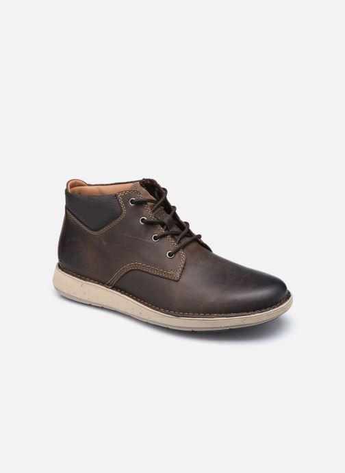 Boots en enkellaarsjes Clarks Unstructured Un Larvik Top2 Bruin detail