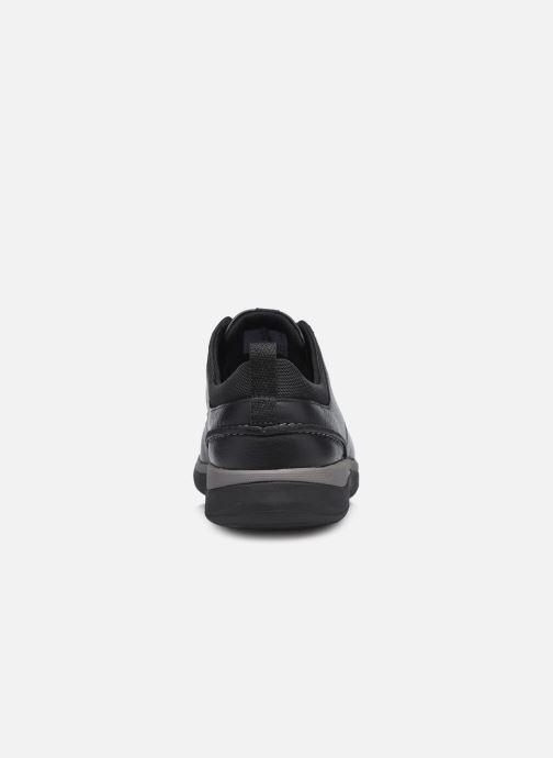 Chaussures à lacets Clarks Unstructured Garratt Street Noir vue droite