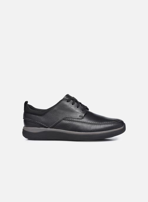 Chaussures à lacets Clarks Unstructured Garratt Street Noir vue derrière