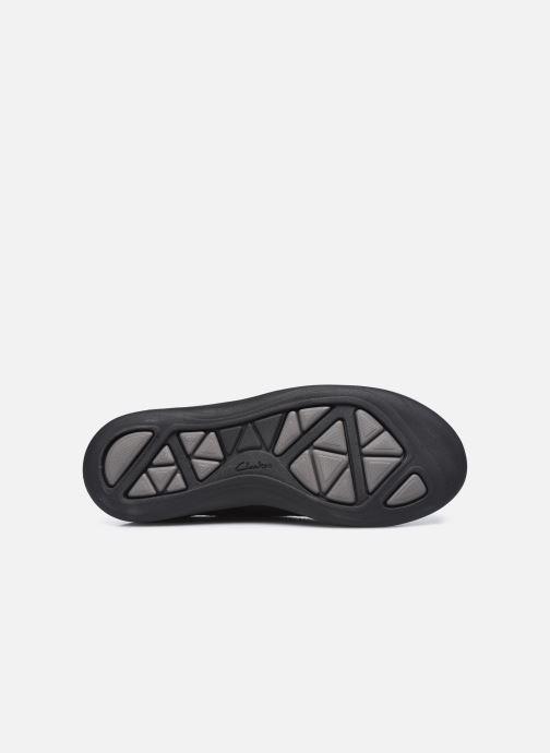 Zapatos con cordones Clarks Unstructured Garratt Street Negro vista de arriba