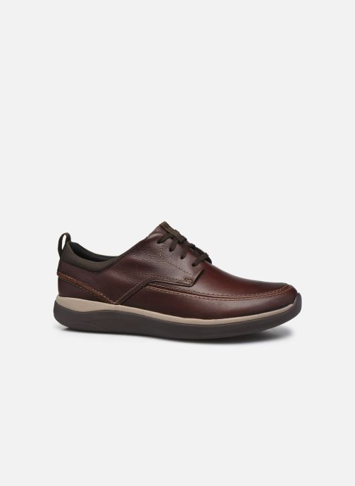 Zapatos con cordones Clarks Unstructured Garratt Street Marrón vistra trasera