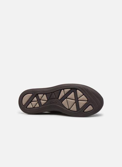 Zapatos con cordones Clarks Unstructured Garratt Street Marrón vista de arriba