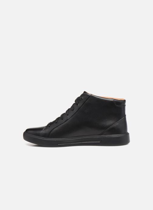 Sneakers Clarks Unstructured Un Costa Mid Nero immagine frontale