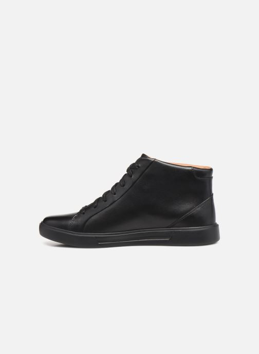 Baskets Clarks Unstructured Un Costa Mid Noir vue face