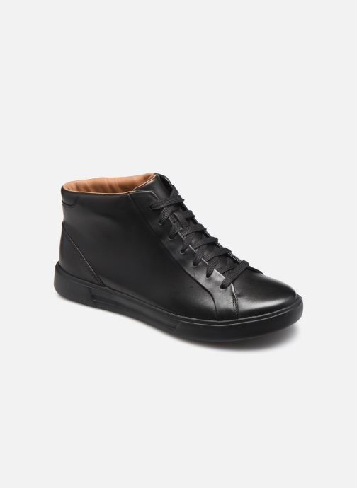 Baskets Clarks Unstructured Un Costa Mid Noir vue détail/paire