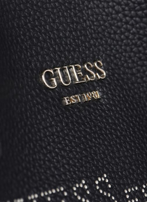 Bolsos de mano Guess VIKKY TOTE PF6995230 Negro vista lateral izquierda