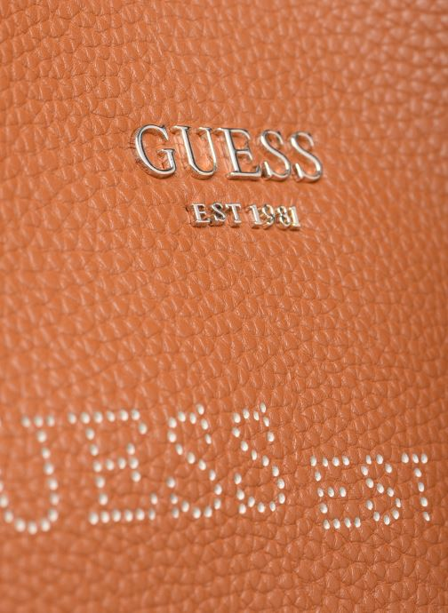 Borse Guess VIKKY TOTE PF6995230 Marrone immagine sinistra